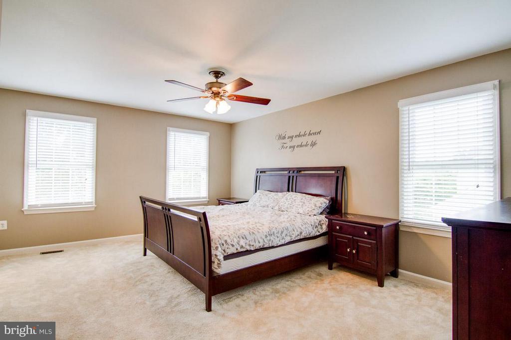 Bedroom (Master) - 9908 HAWTHORN HILL CT, MANASSAS