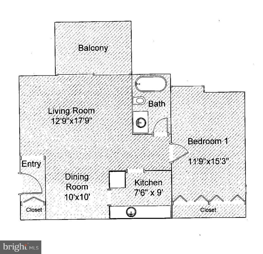Floor Plan - 2600 INDIAN DR #83, ALEXANDRIA