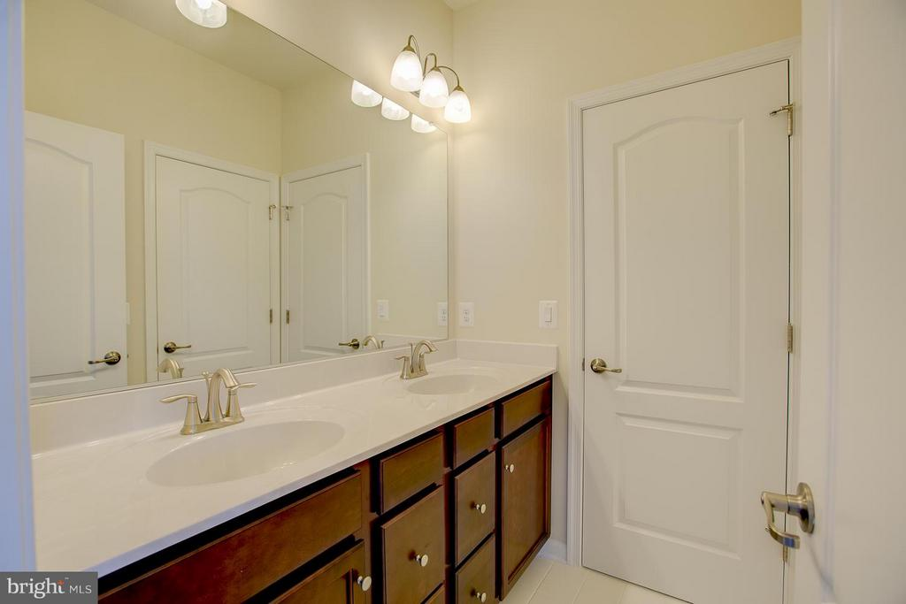Jack and Jill Bathroom - 174 VERBENA DR, STAFFORD