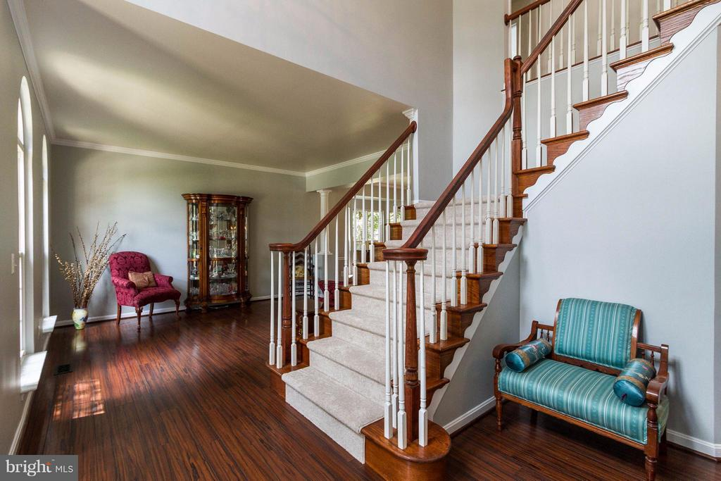 Two story foyer - 320 ALABAMA DR, HERNDON