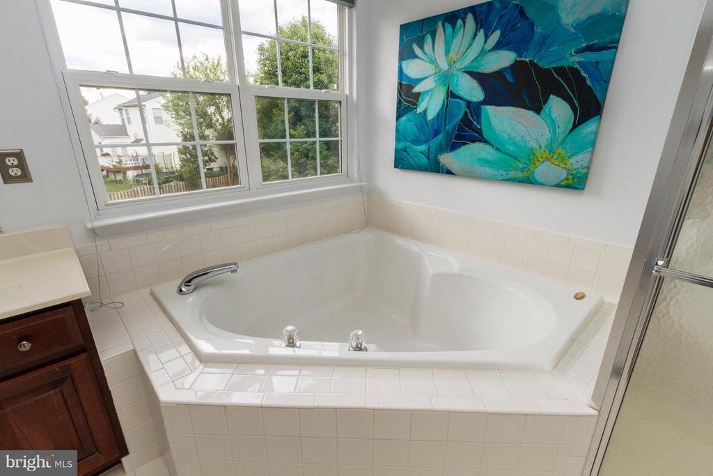 Corner soaking tub - 320 ALABAMA DR, HERNDON
