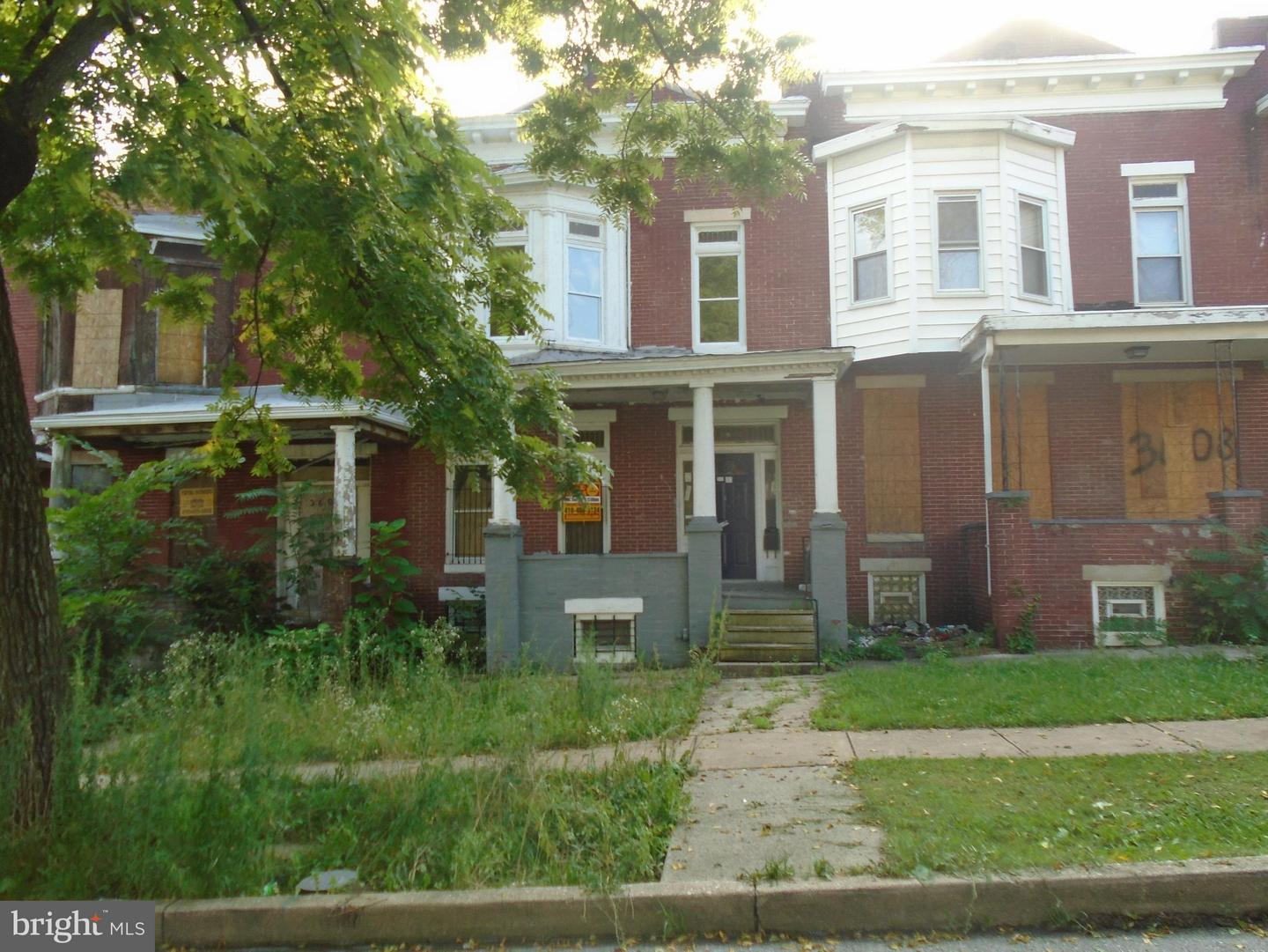 Photo of home for sale at 3606 Cottage Avenue, Baltimore MD