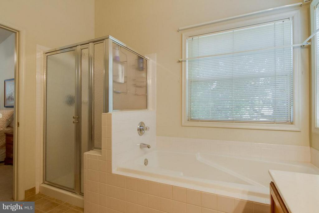 Master Bath-Separate Shower and Soaking Tub - 10 JUSTIN CT, STAFFORD