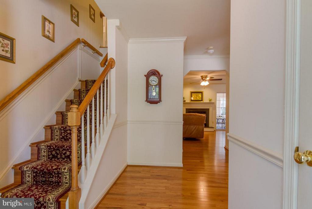 Wood Floors on Main Lvl, Stairs and Upper Lvl Hall - 10 JUSTIN CT, STAFFORD