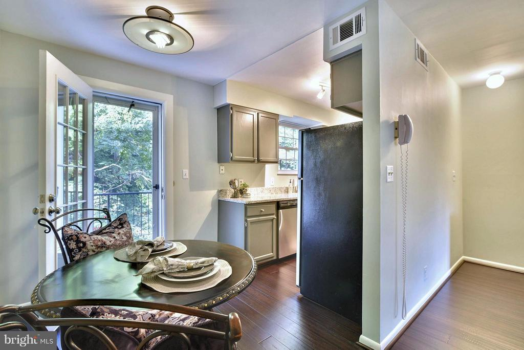 Eat-in kitchen! - 2846B WAKEFIELD ST S #B, ARLINGTON