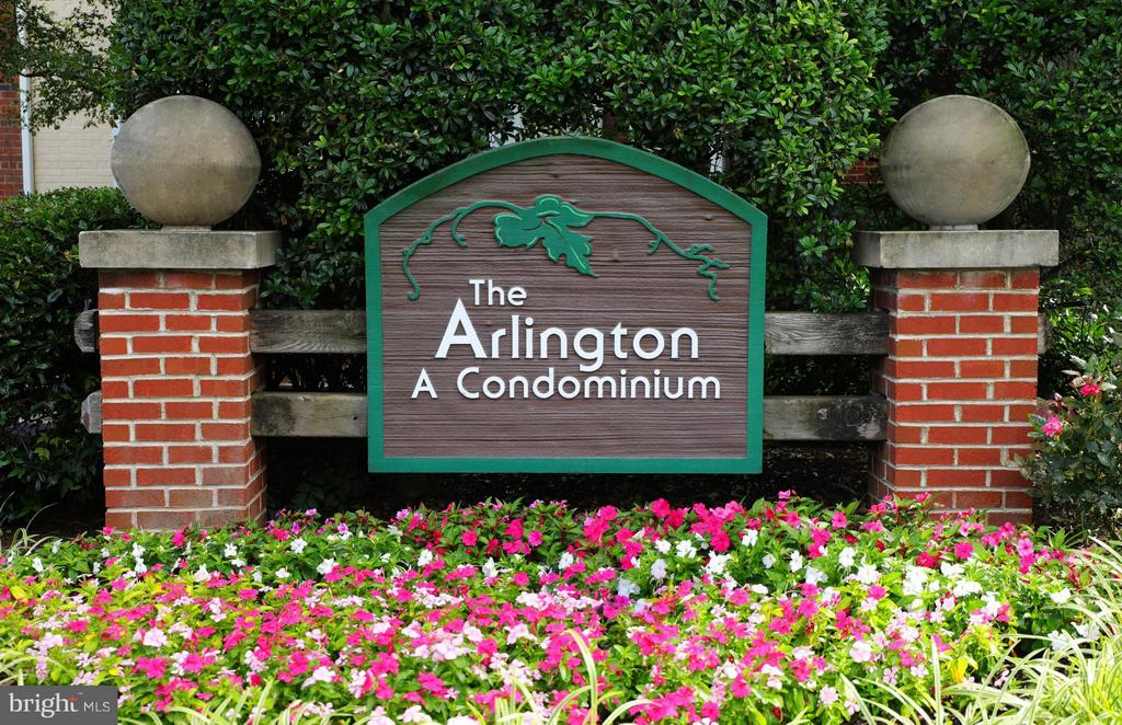 The Arlington - a coveted community w/ low fees! - 2846B WAKEFIELD ST S #B, ARLINGTON