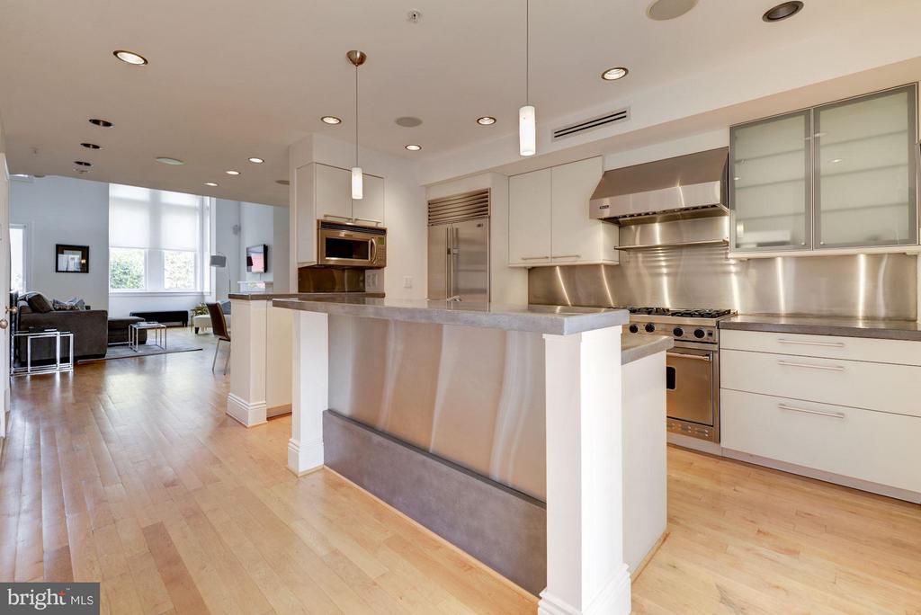 Kitchen (2 of 3) - 1916 12TH ST NW #2, WASHINGTON