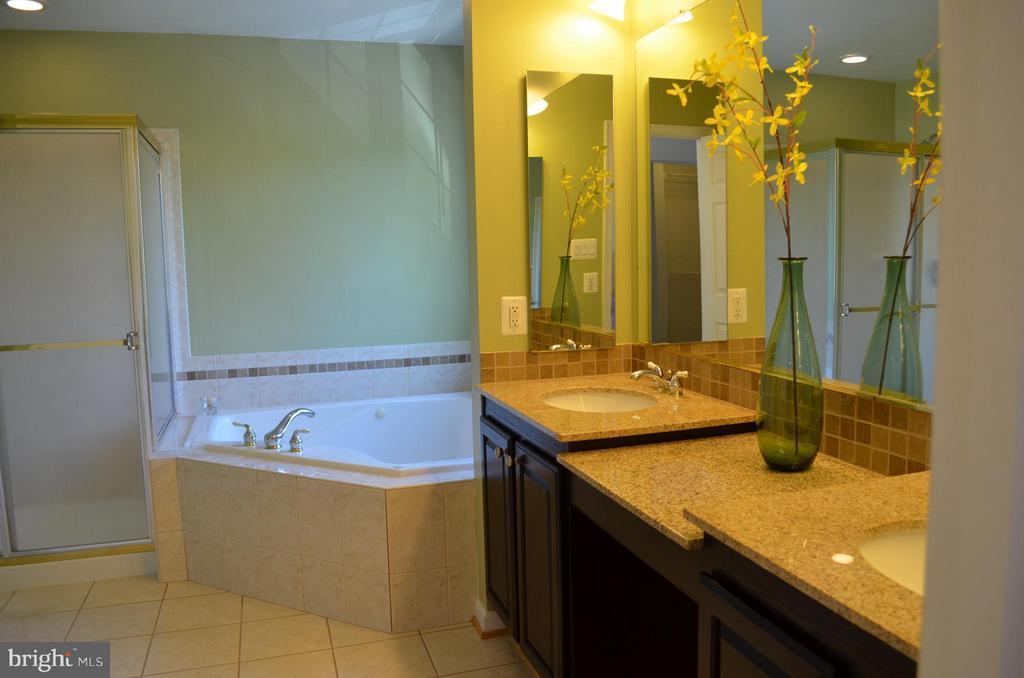 Master suite has granite, updated bath/shower - 6096 EDMONT DR, FREDERICK