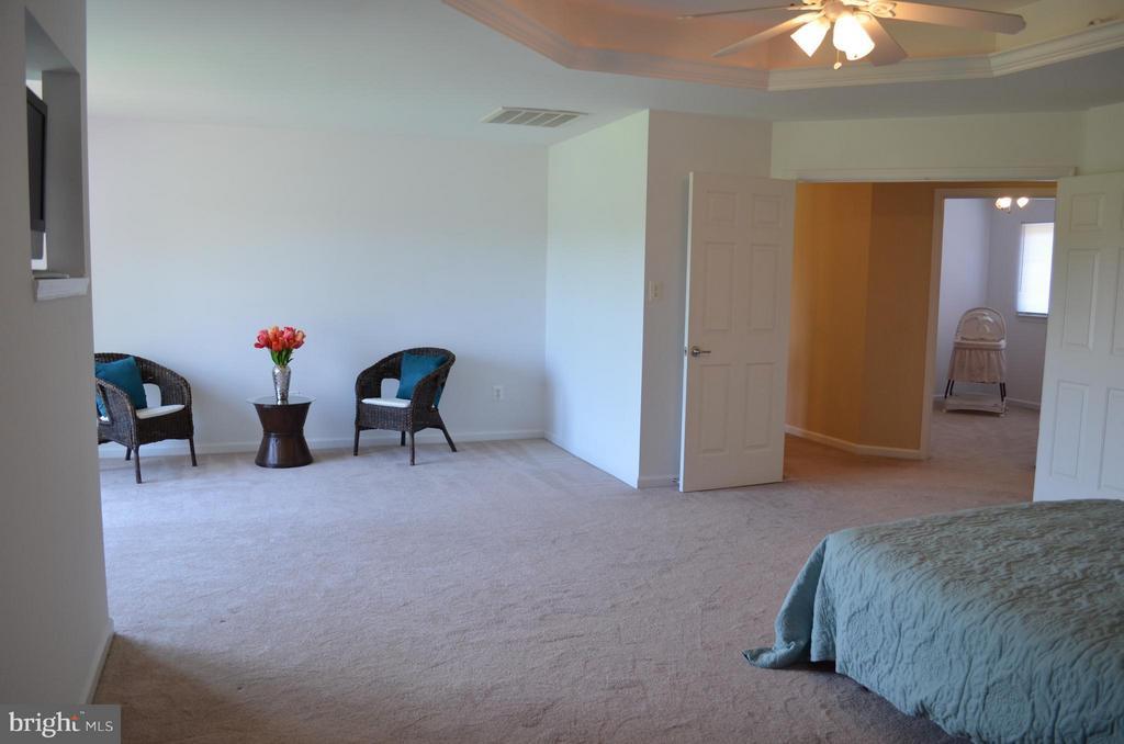 Spacious master suite w/2 huge closets - 6096 EDMONT DR, FREDERICK