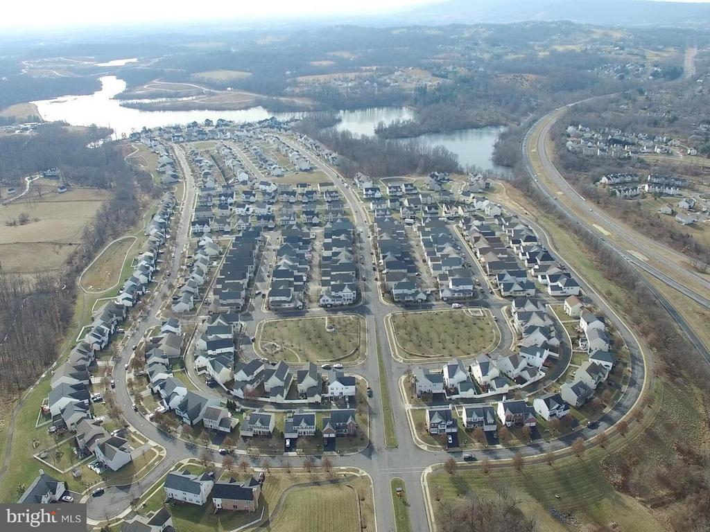 Aerial View - 17584 MARBURY ST, ROUND HILL