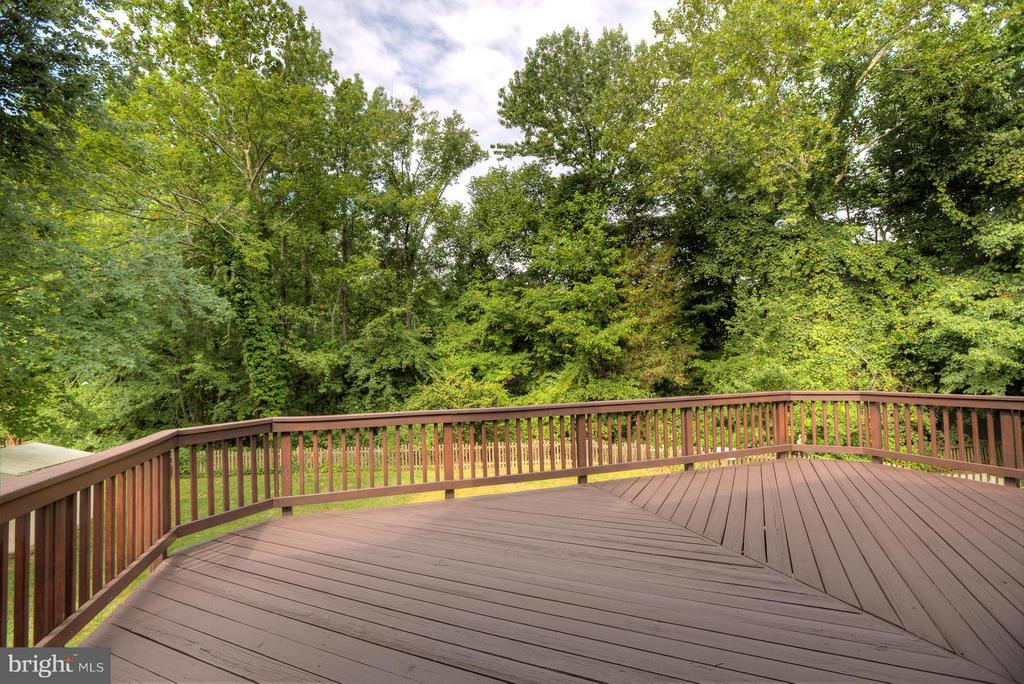 Relax on the 22 x 14 Deck, Tree-lined Yard! - 40 DOROTHY LN, STAFFORD