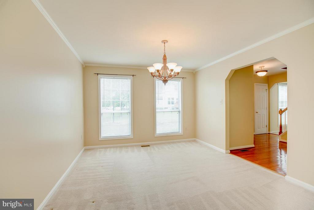 Formal dining room with 72