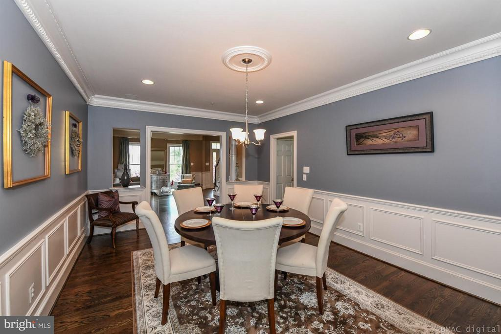 Spacious dining room - 6720 BOX TURTLE CT, NEW MARKET