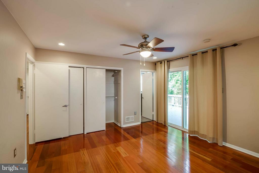 Overhead lights and fans in all bedrooms - 7732 OAK ST, FALLS CHURCH