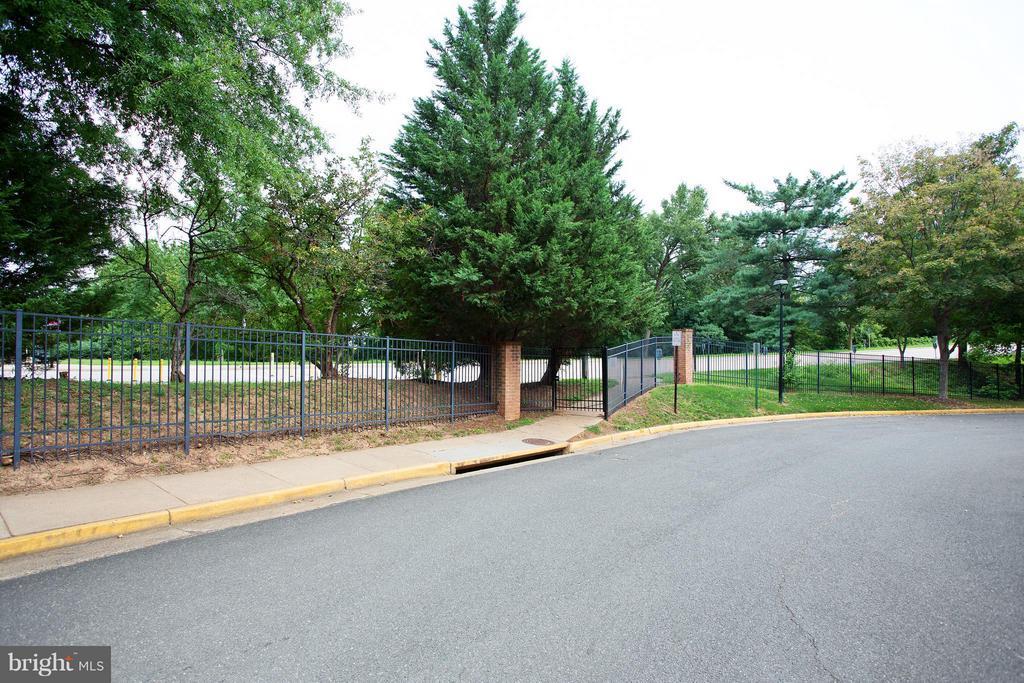 Gate to West Falls Church Metro across the street - 7000 FALLS REACH DR #412, FALLS CHURCH