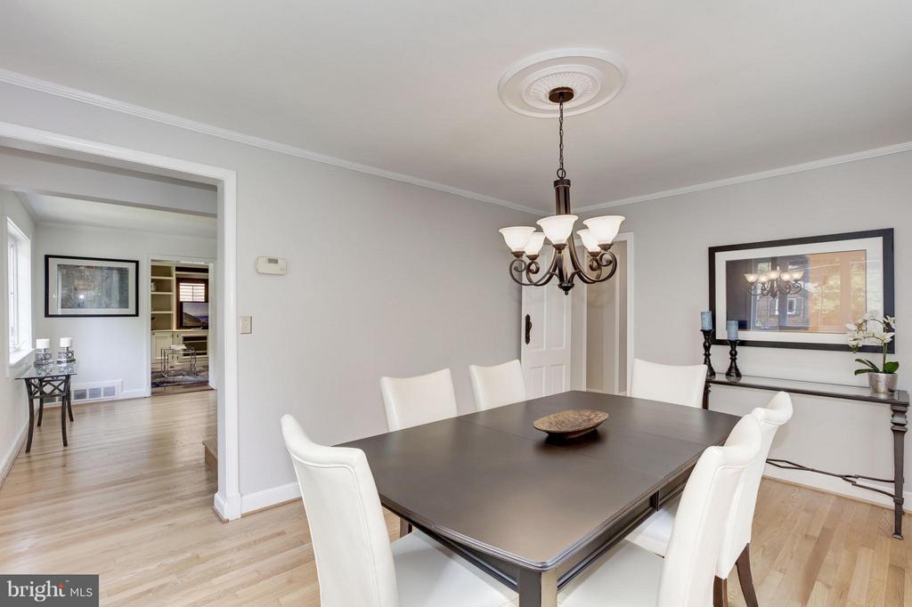 Dining Room - 3638 VACATION LN, ARLINGTON