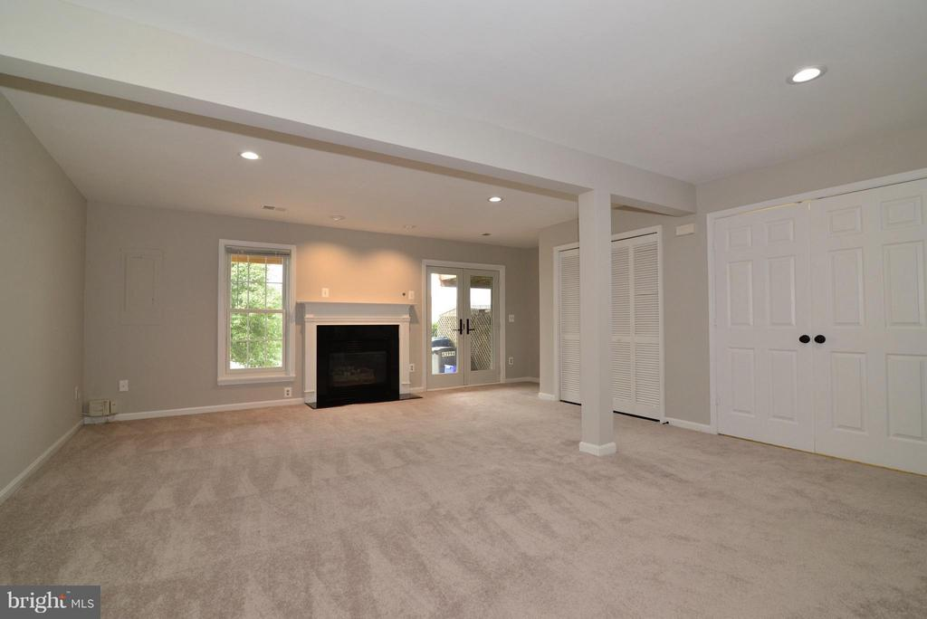 Lower Level Rec Room/Family Room - 43996 KINGS ARMS SQ, ASHBURN