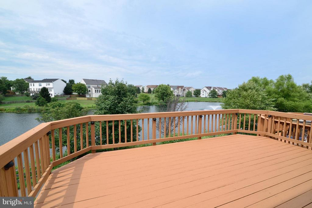 Upper Rear Deck, watch Fireworks from your deck! - 43996 KINGS ARMS SQ, ASHBURN