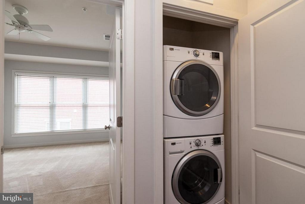 Front Loading Washer and Dryer - 3102 CHANCELLORS WAY NE, WASHINGTON