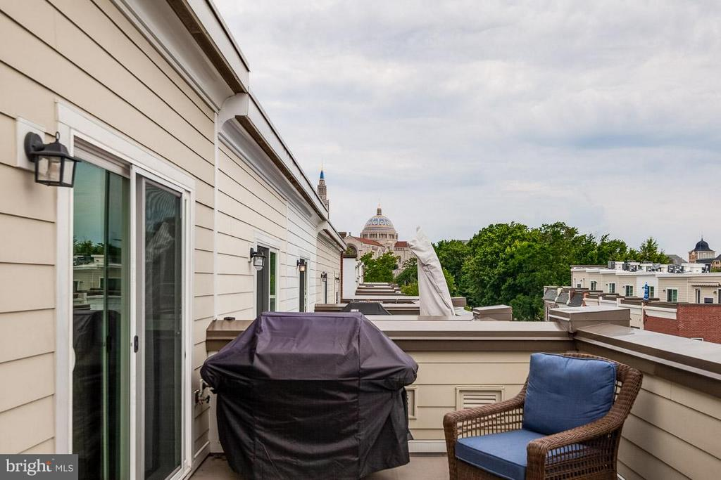 View of the Basilica from Rooftop Terrace - 3102 CHANCELLORS WAY NE, WASHINGTON