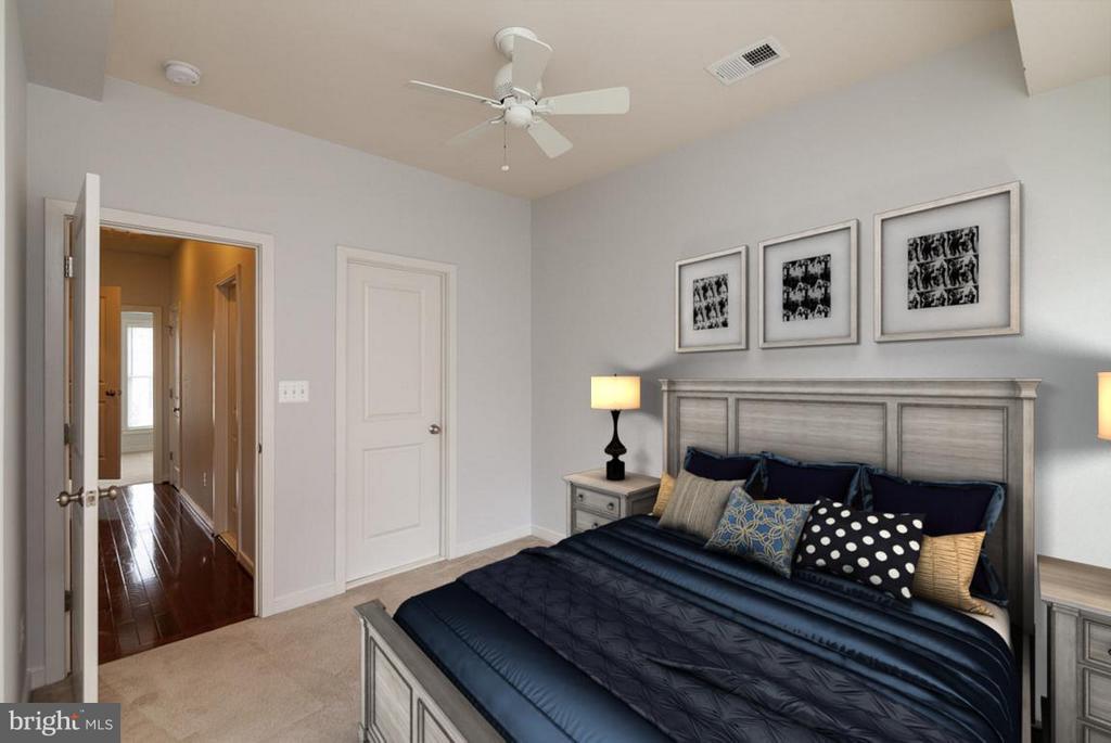 Bedroom (Master) - 3102 CHANCELLORS WAY NE, WASHINGTON