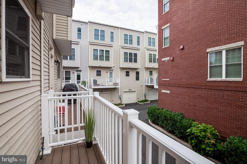 Rear Balcony - 3102 CHANCELLORS WAY NE, WASHINGTON
