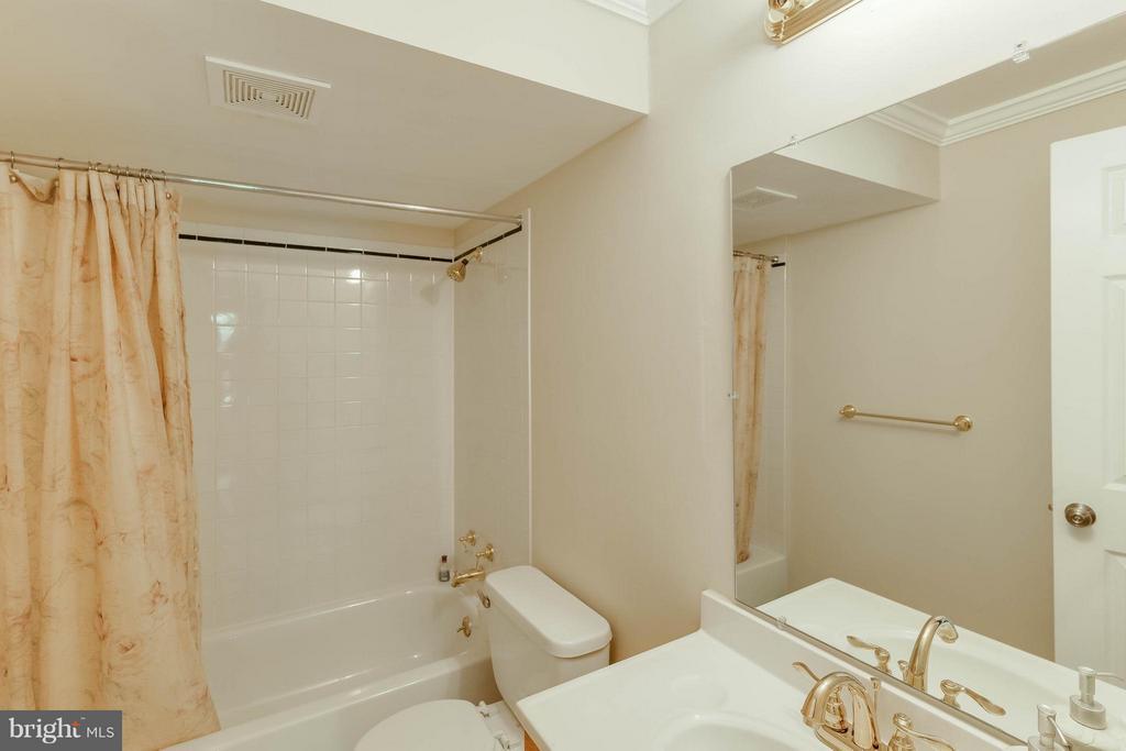 Basement Full Bath - 1518 SUMMERSET PL, HERNDON