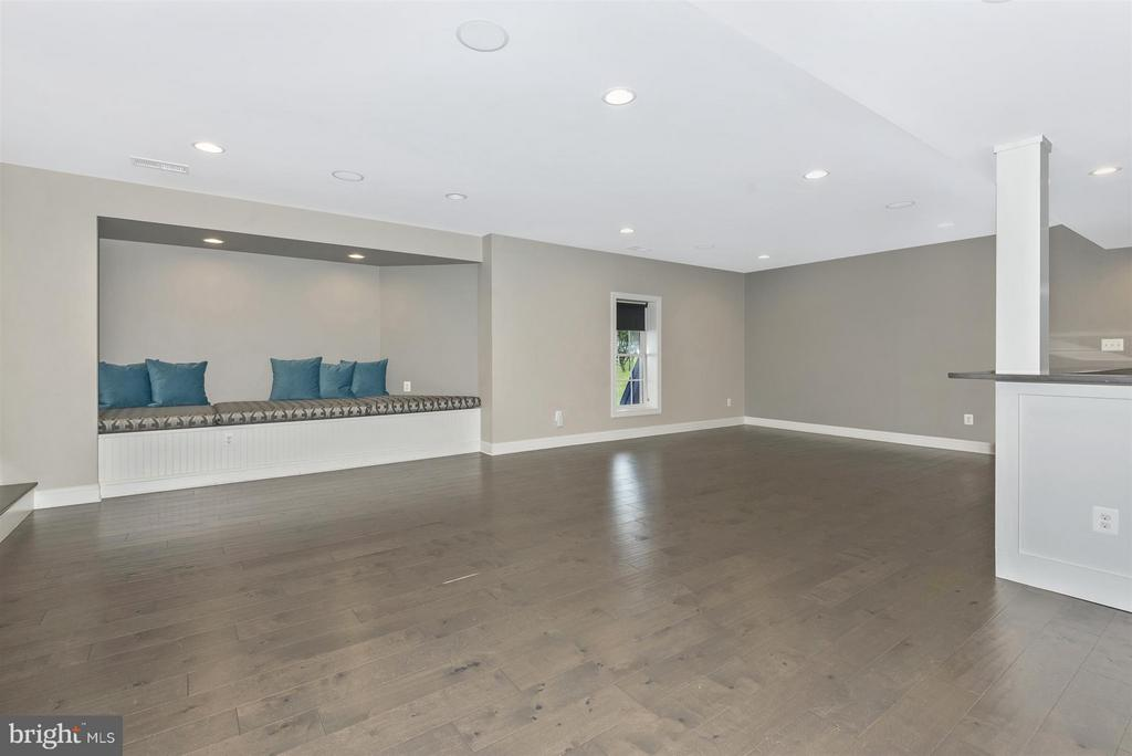 Basement with full bar and bedroom/bath combo - 4002 CARRIAGE HILL DR, FREDERICK