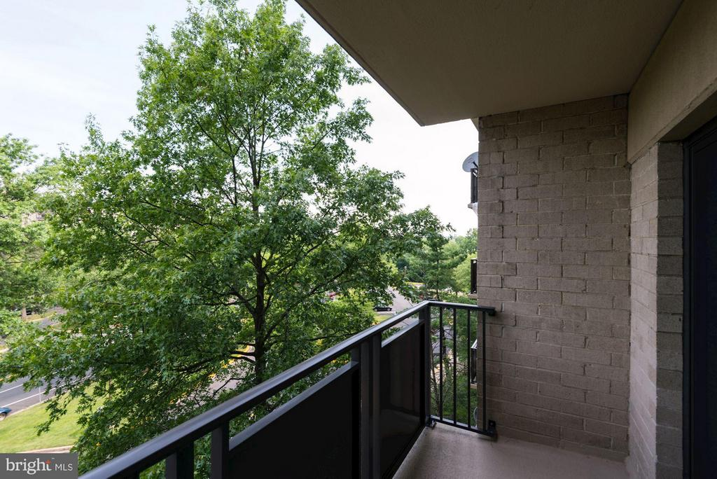 Balcony off of Living Room - 3101 MANCHESTER ST #516, FALLS CHURCH