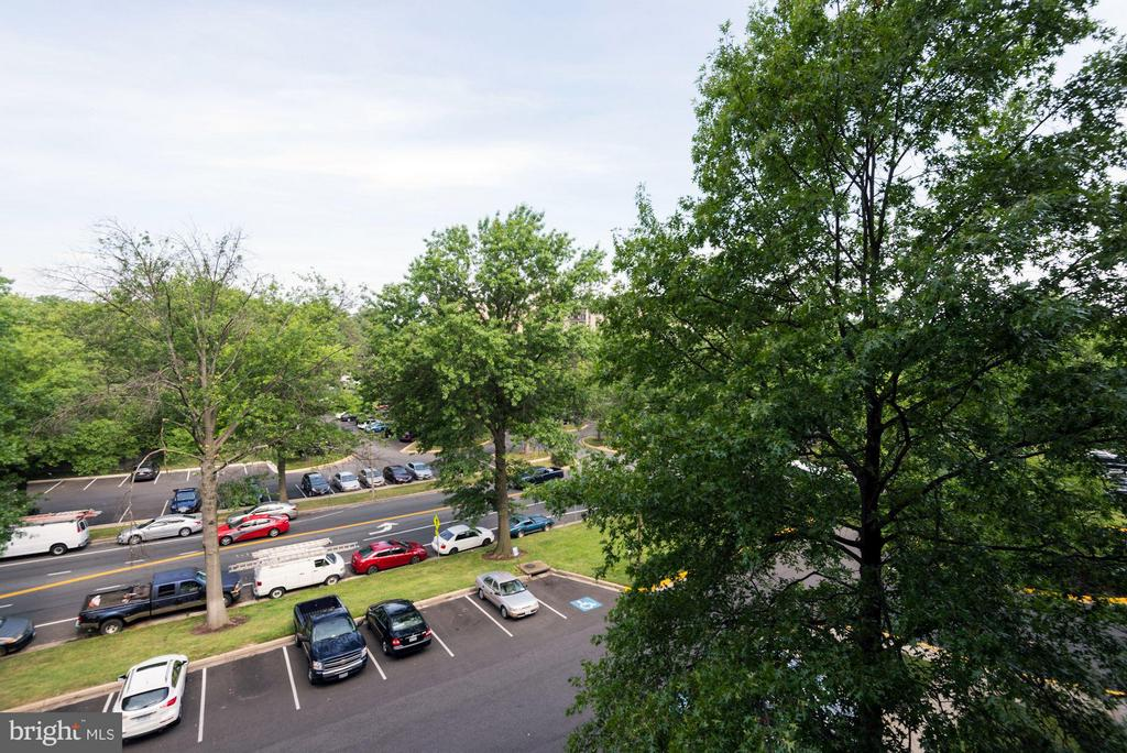 Quiet Side of the Building - 3101 MANCHESTER ST #516, FALLS CHURCH