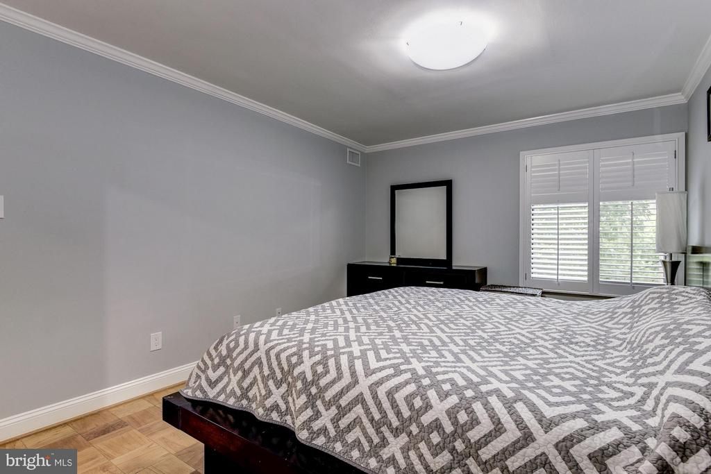 Hardwood Floors in the Master - 3101 MANCHESTER ST #516, FALLS CHURCH