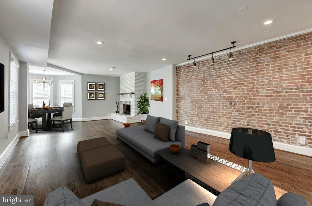 Living Room (2 of 5) - 421 E ST NE, WASHINGTON
