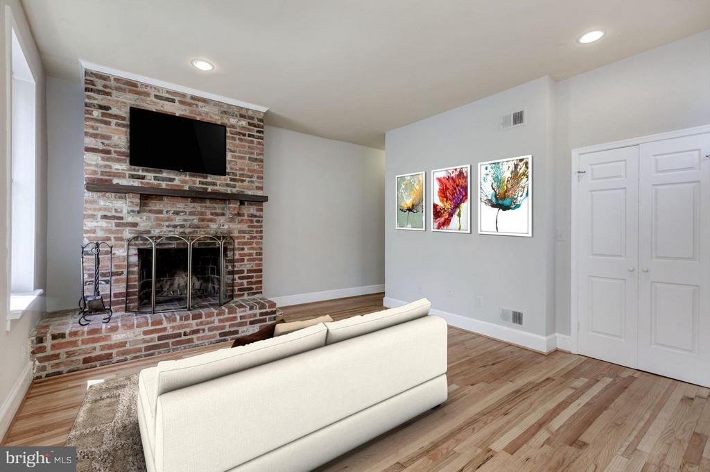 Unit #2 Living Room (2 of 2) - 421 E ST NE, WASHINGTON