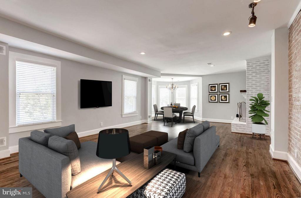 Living Room (1 of 5) - 421 E ST NE, WASHINGTON