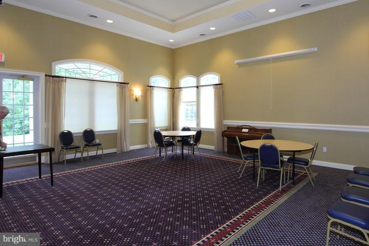 COMMUNITY CENTER'S PARTY ROOM - 20810 NOBLE TER #208, STERLING