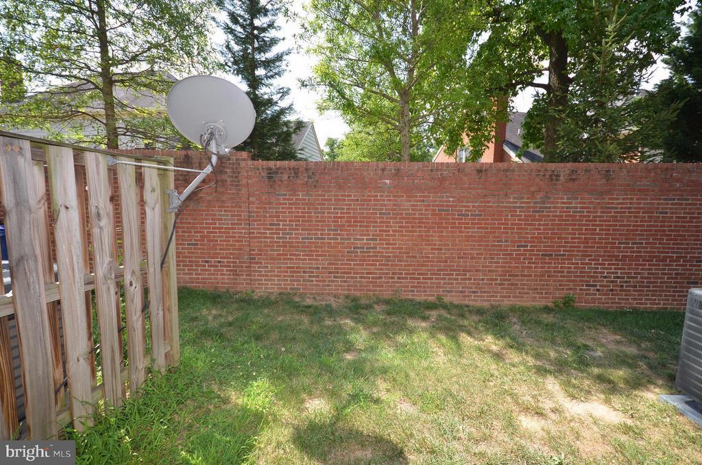 Rear Yard - 3502 ELLERY CIR, FALLS CHURCH