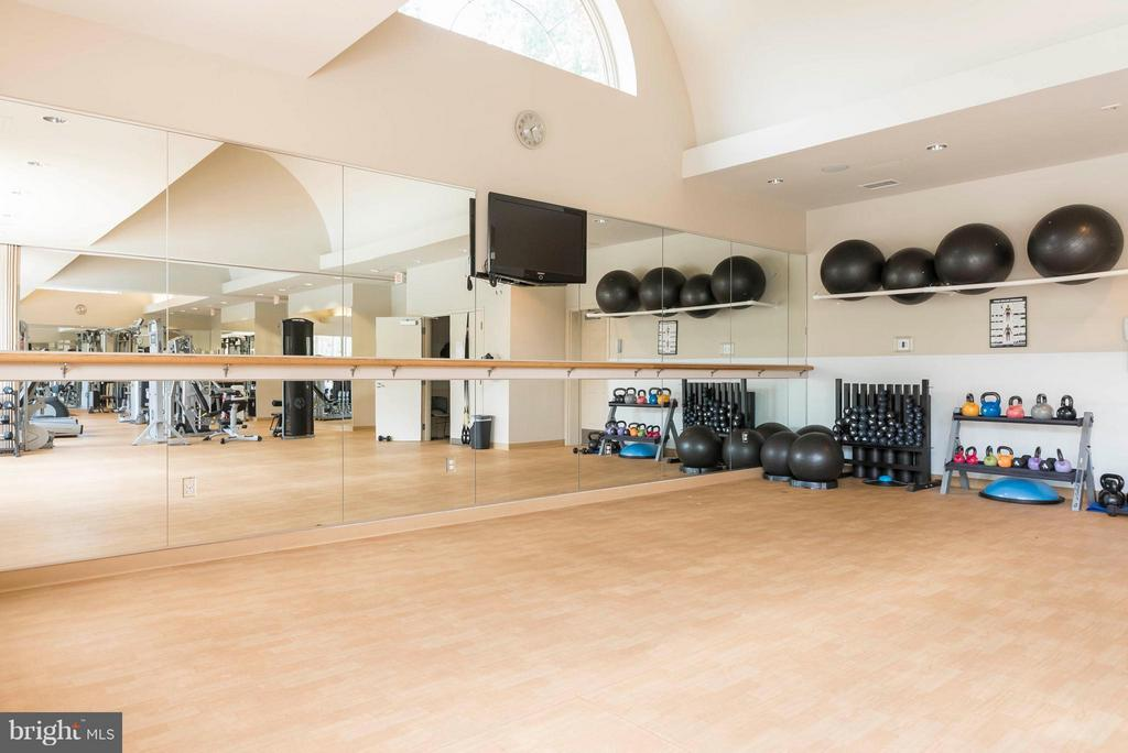 Exercise room - 3912 PENDERVIEW DR #537, FAIRFAX