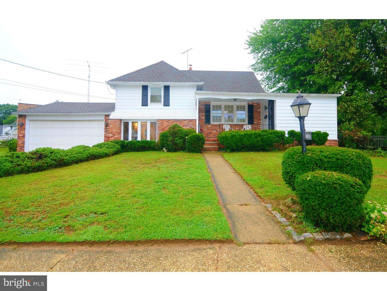 Maison unifamiliale pour l Vente à 900 SAN JOSE Drive Glendora, New Jersey 08029 États-Unis