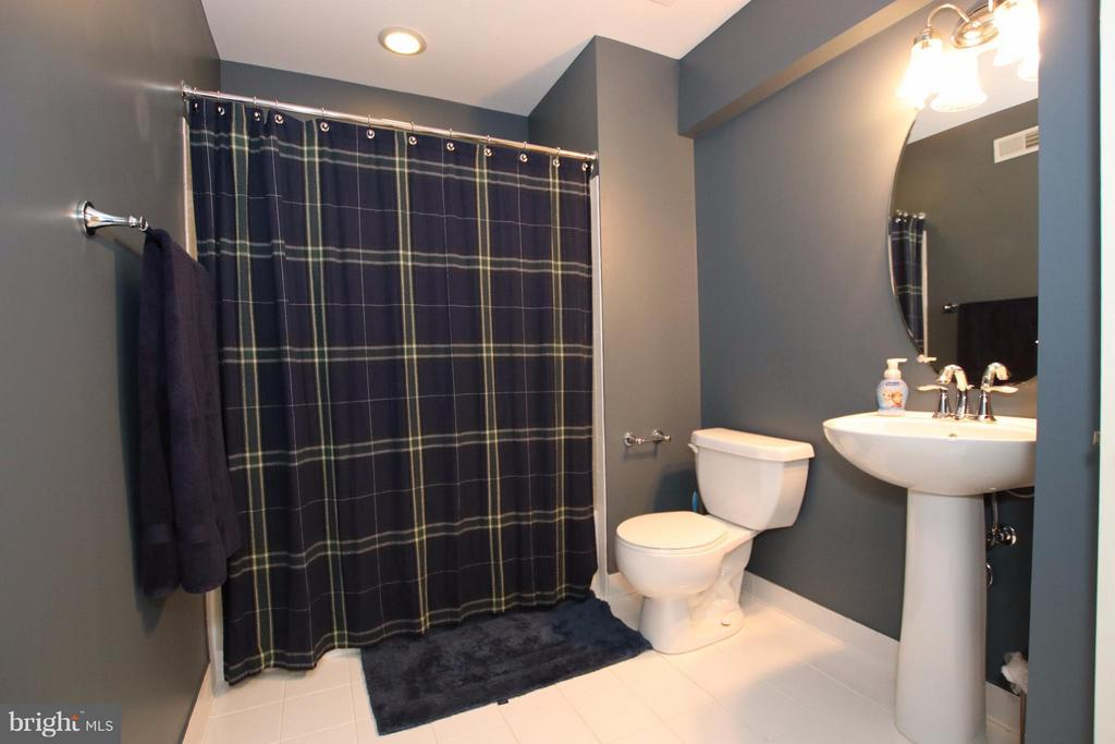 Full bath in the basement for overnight guests - 42867 AUTUMN HARVEST CT, BROADLANDS
