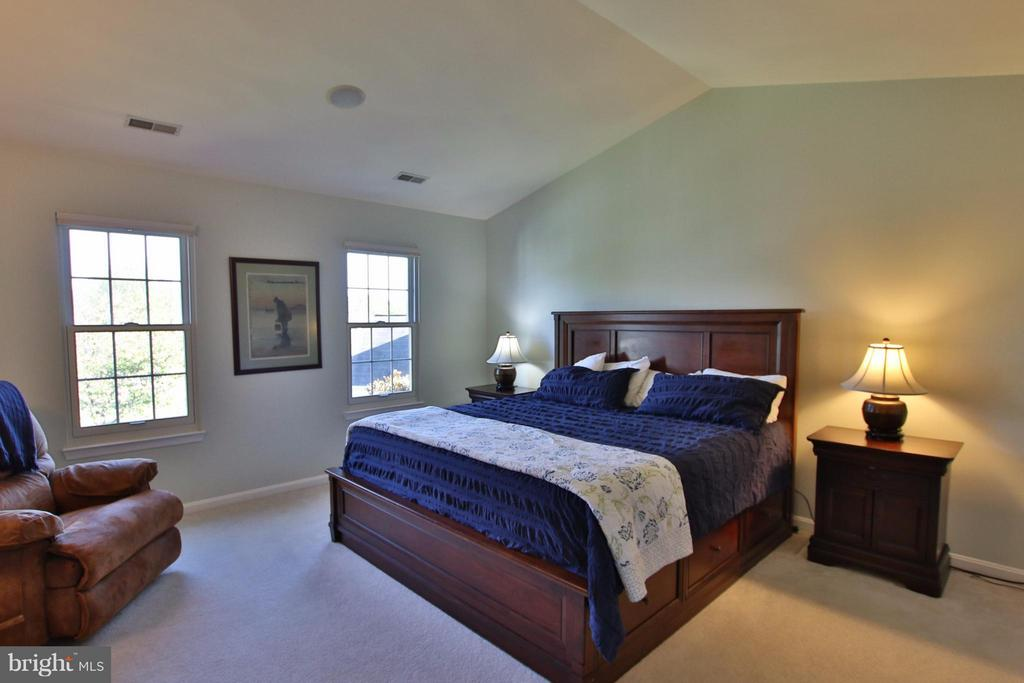 Dreamy master suite w/ cathedral ceiling - 42867 AUTUMN HARVEST CT, BROADLANDS