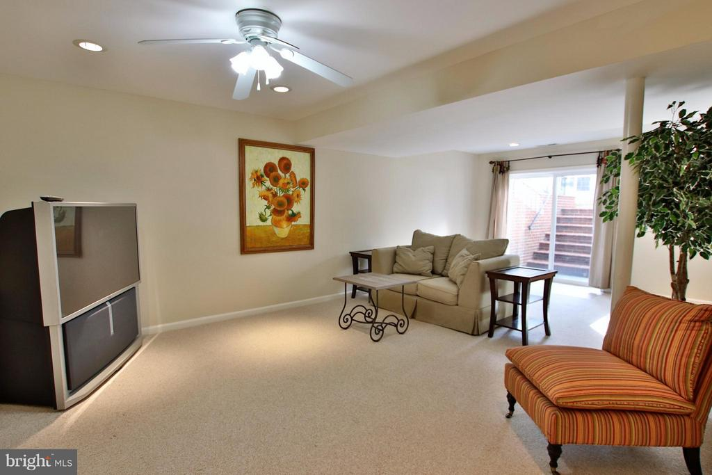 2nd family room in walk out lower level - 42867 AUTUMN HARVEST CT, BROADLANDS