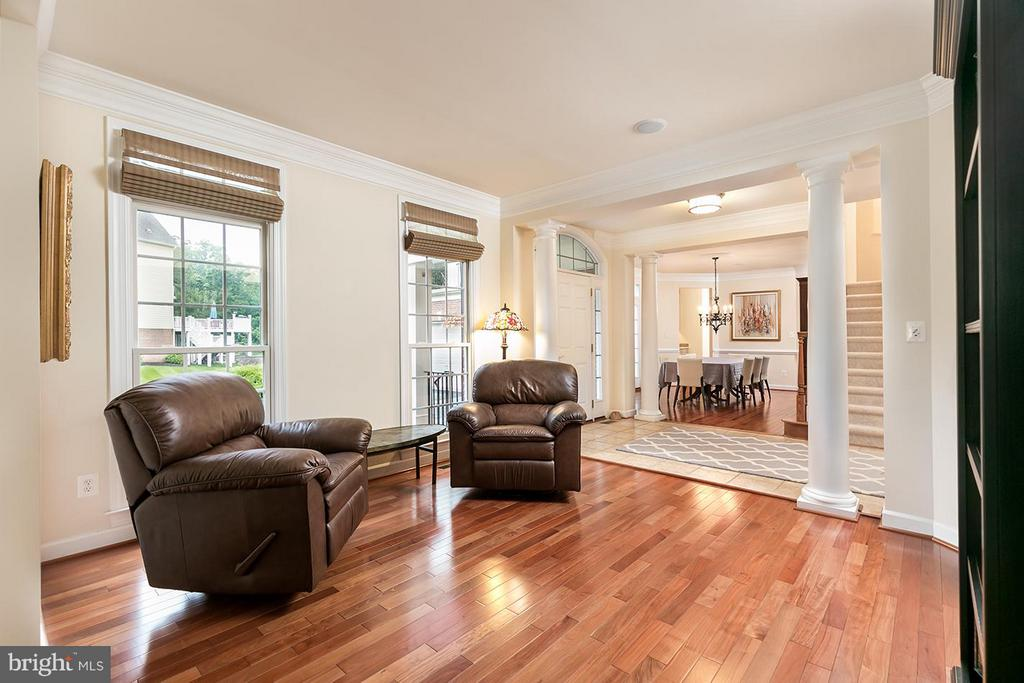 Across the foyer to the living room. - 43288 OVERVIEW PL, LEESBURG