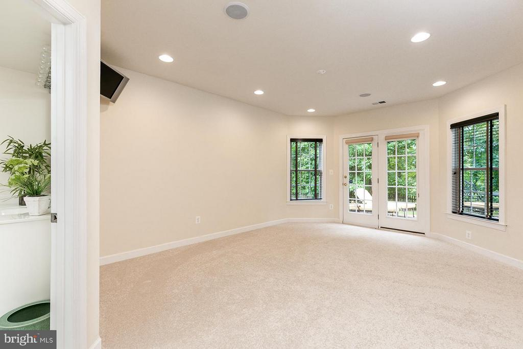 Extra bedroom with walk-out. - 43288 OVERVIEW PL, LEESBURG