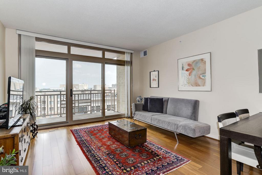 Open Living Room - 888 QUINCY ST #1212, ARLINGTON