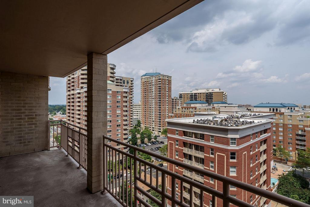 Balcony View - 888 QUINCY ST #1212, ARLINGTON
