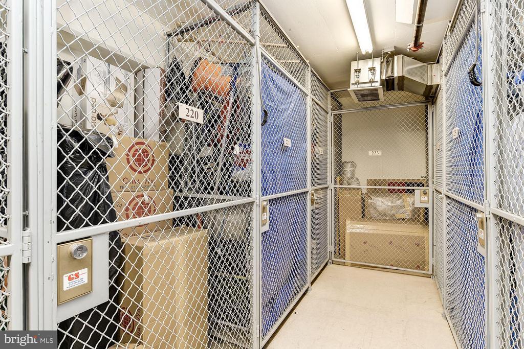 TWO (2) storage units, 230 + 233, convey - 888 QUINCY ST #1212, ARLINGTON