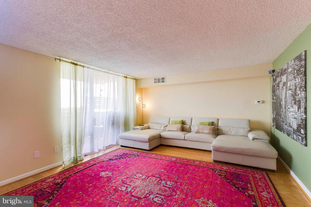 Living Room - 1101 ARLINGTON RIDGE RD S #411, ARLINGTON