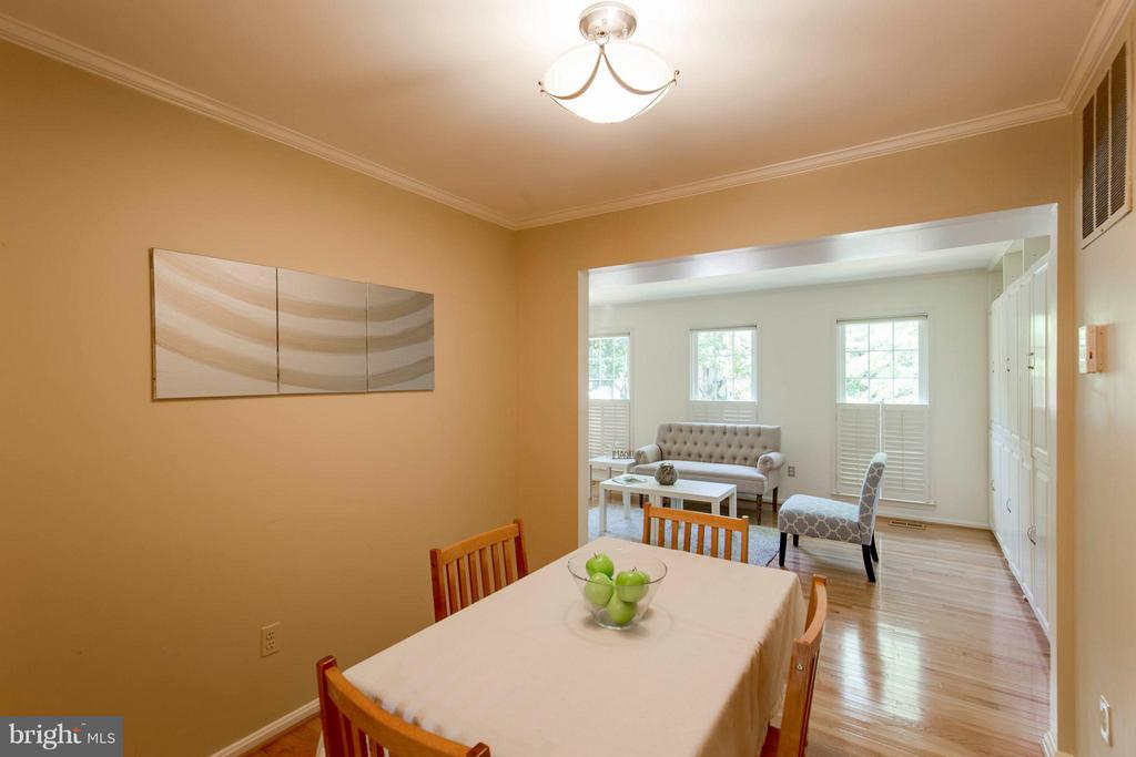 Dining Room - 3946 WILCOXSON DR, FAIRFAX