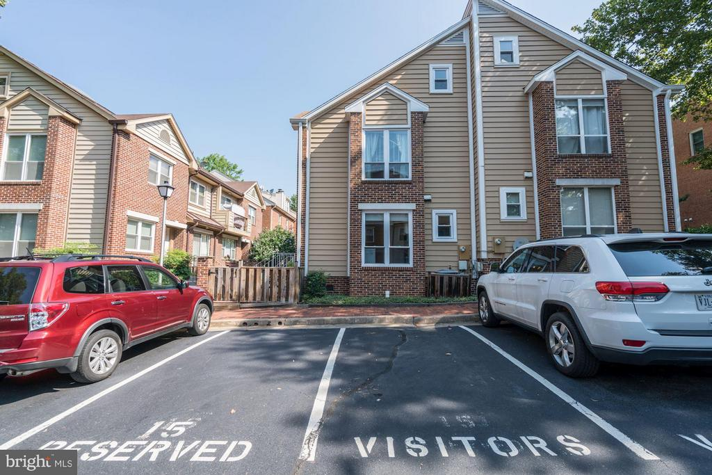 1 Spot + Visitor + Zone 7 & much more parking - 1109 VERNON ST, ARLINGTON