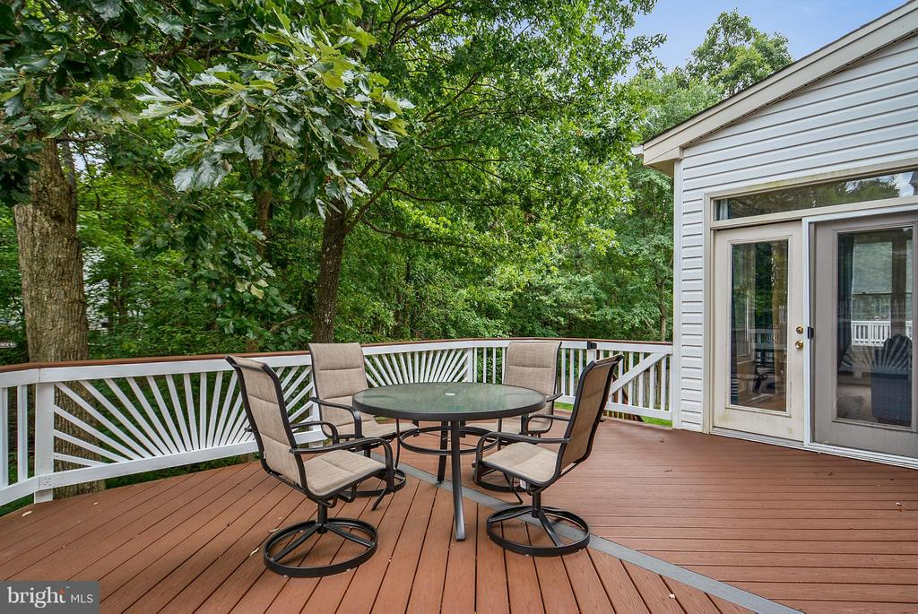 Deck - 2421 MILL HEIGHTS DR, HERNDON